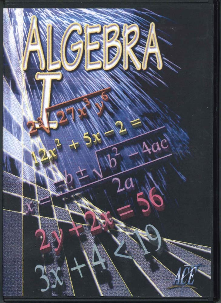 Cover Image for Algebra 1 DVD 1100 (Part 1 & 2)