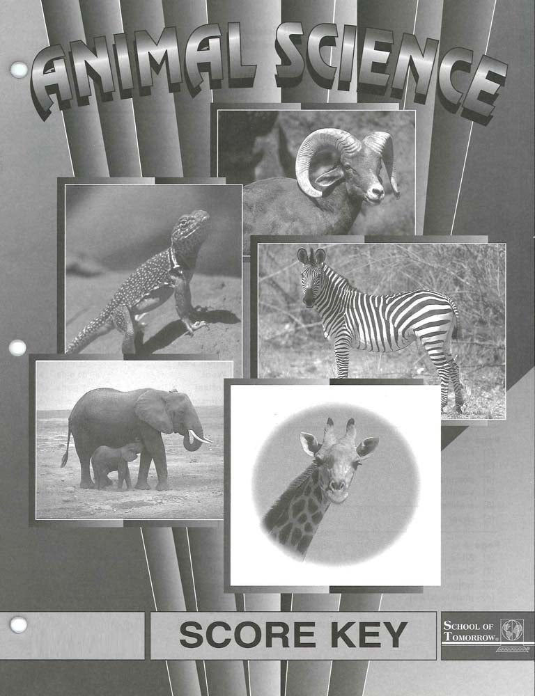 Cover Image for Animal Science Keys 16-18