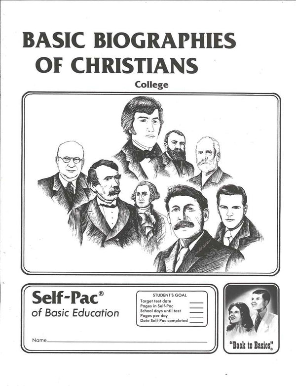 Cover Image for Biography of Christians 9