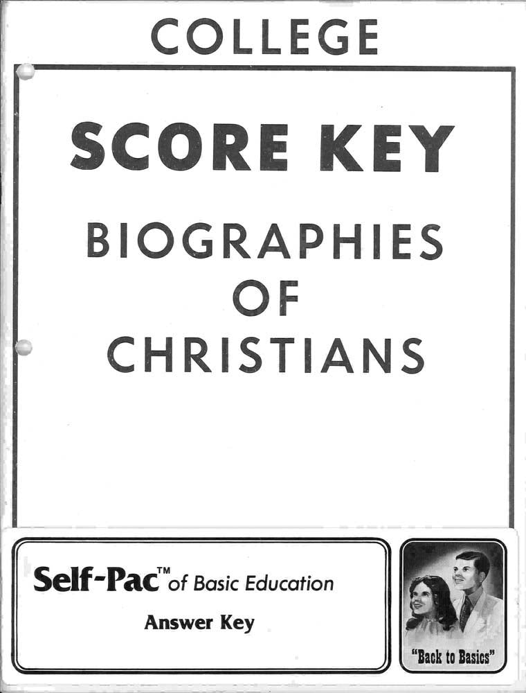 Cover Image for Biography of CHR KEYS 1-5