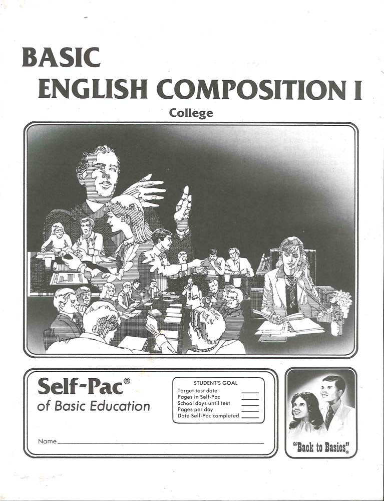 Cover Image for English Composition 1 PACE 9
