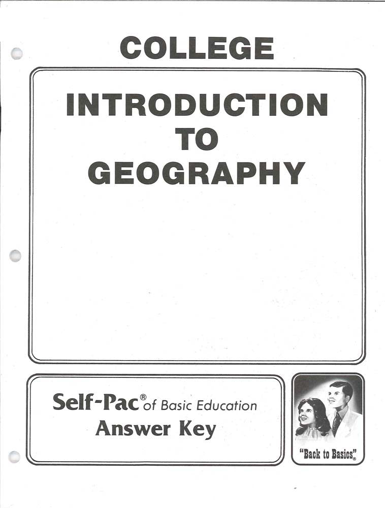 Cover Image for Introduction to Geography KEY 1-5
