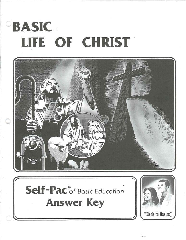 Cover Image for Life of Christ Keys 139-144