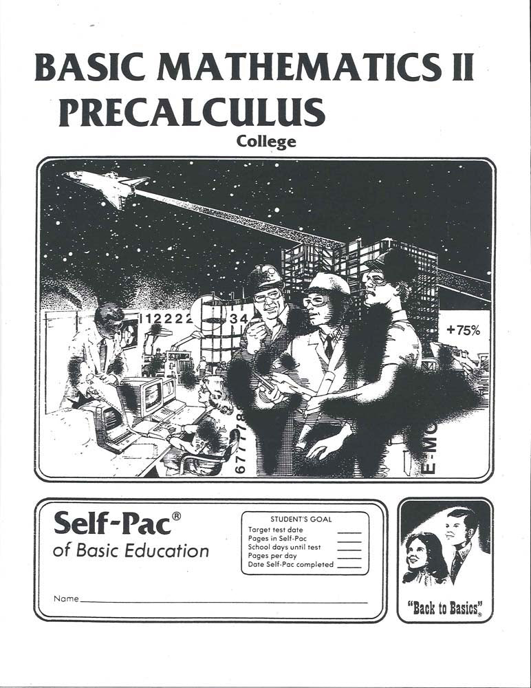 Cover Image for College Maths 15 - PreCalculus