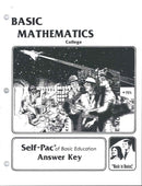 Cover Image for College Maths SOL KEY 11-15