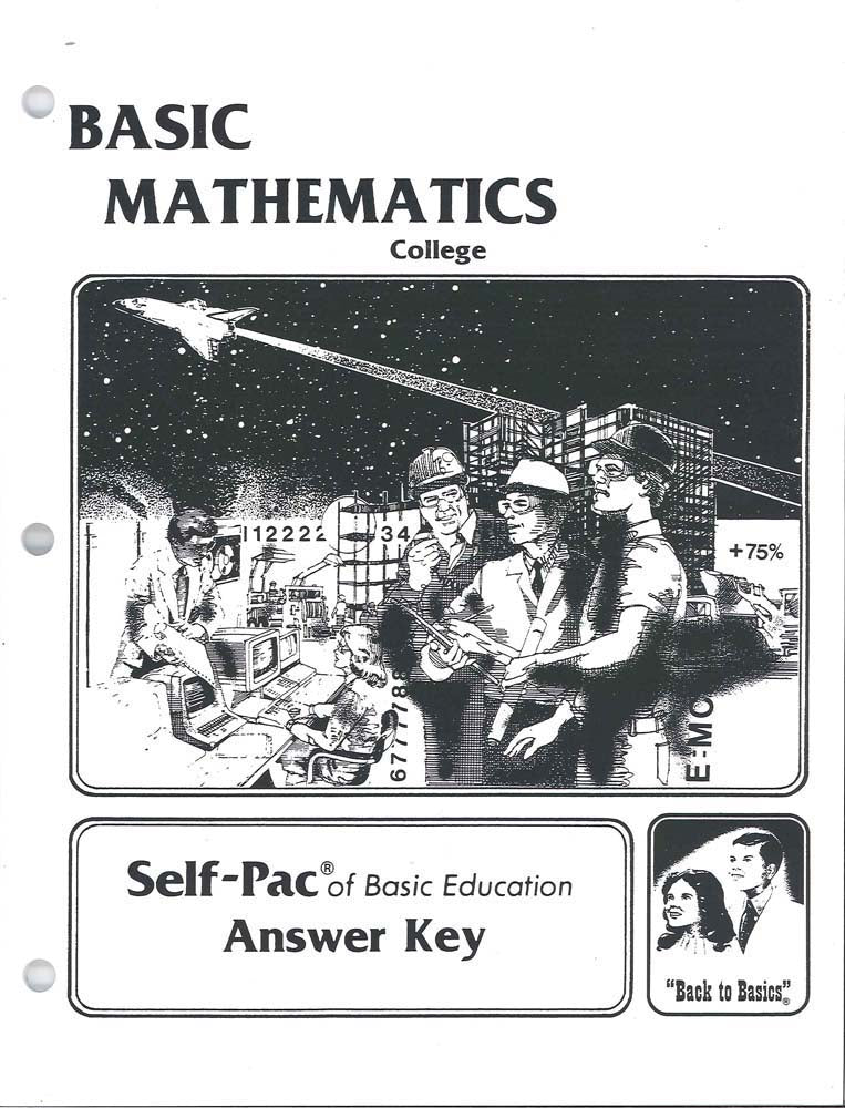 Cover Image for College Maths SOL KEY 16-20