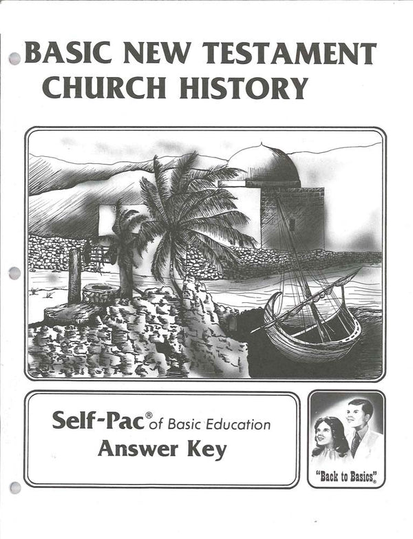 Cover Image for New Testament Church History Keys 121-132