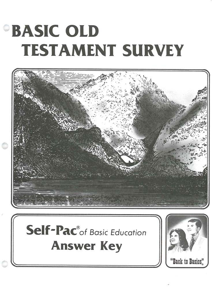 Cover Image for Old Testament Survey KEY 6-10