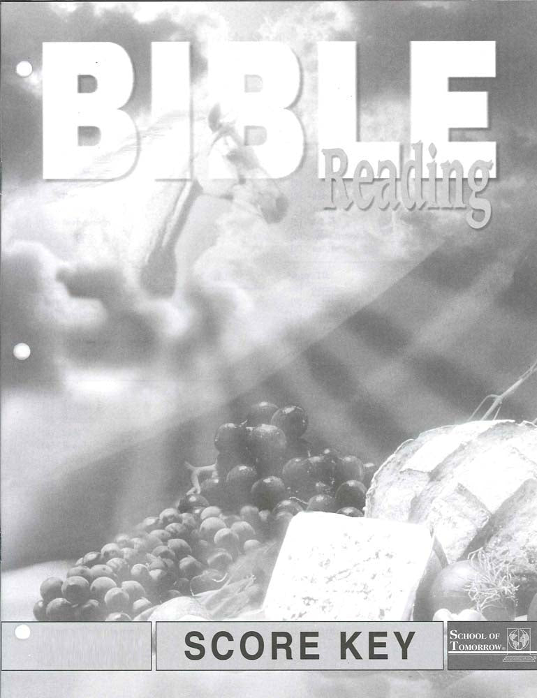 Cover Image for Bible Reading Keys 40-42