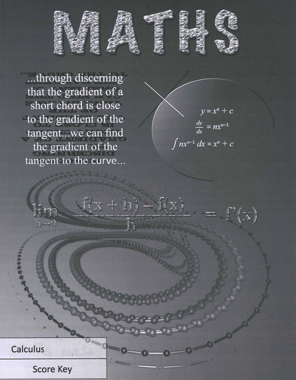 Cover Image for Maths 1139 - 1140 (formerly 1145 - 1146) Keys - Calculus