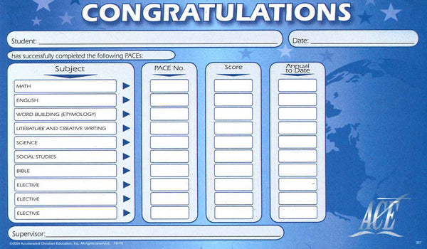 Cover Image for CONGRATULATIONS SLIP (PAD)