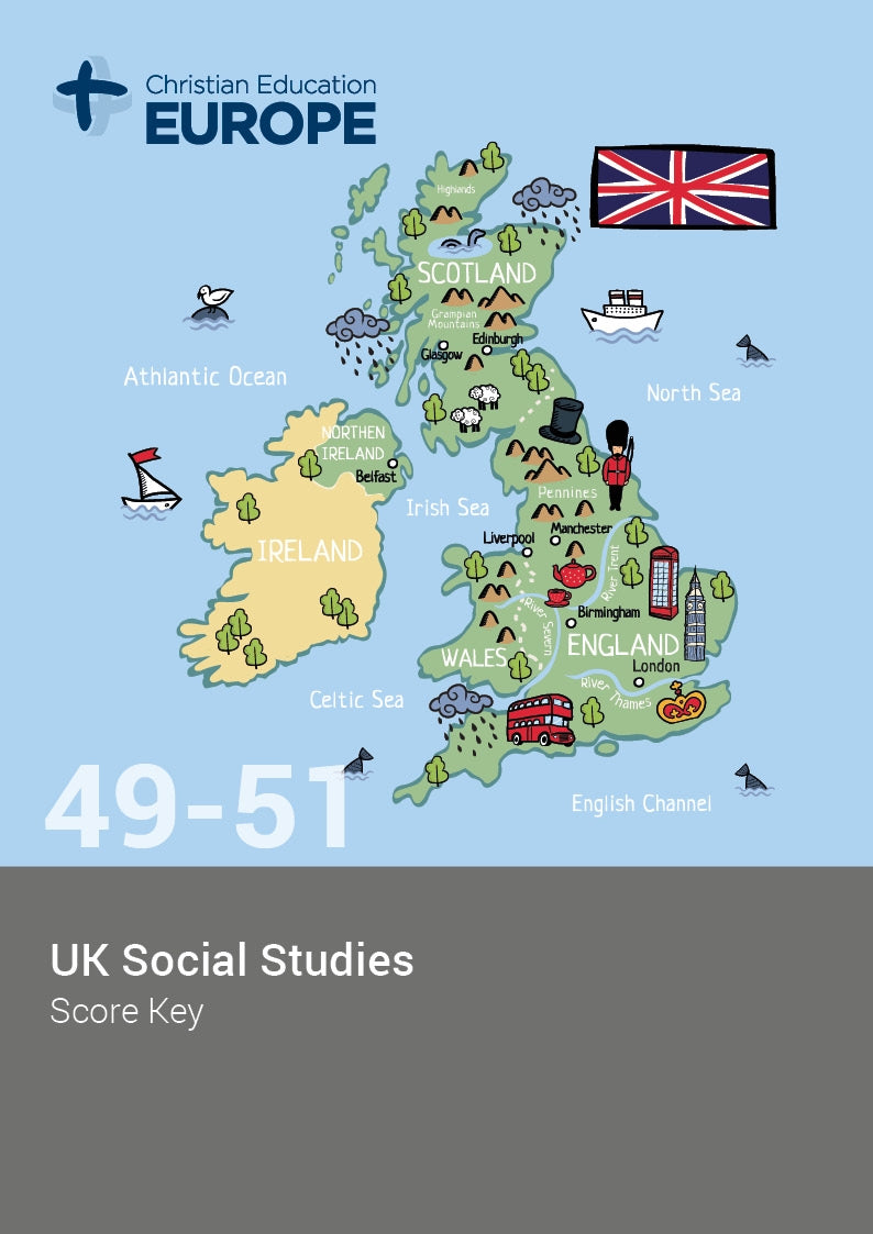 Cover Image for UK Social Studies Keys 49-51 - Rev 3