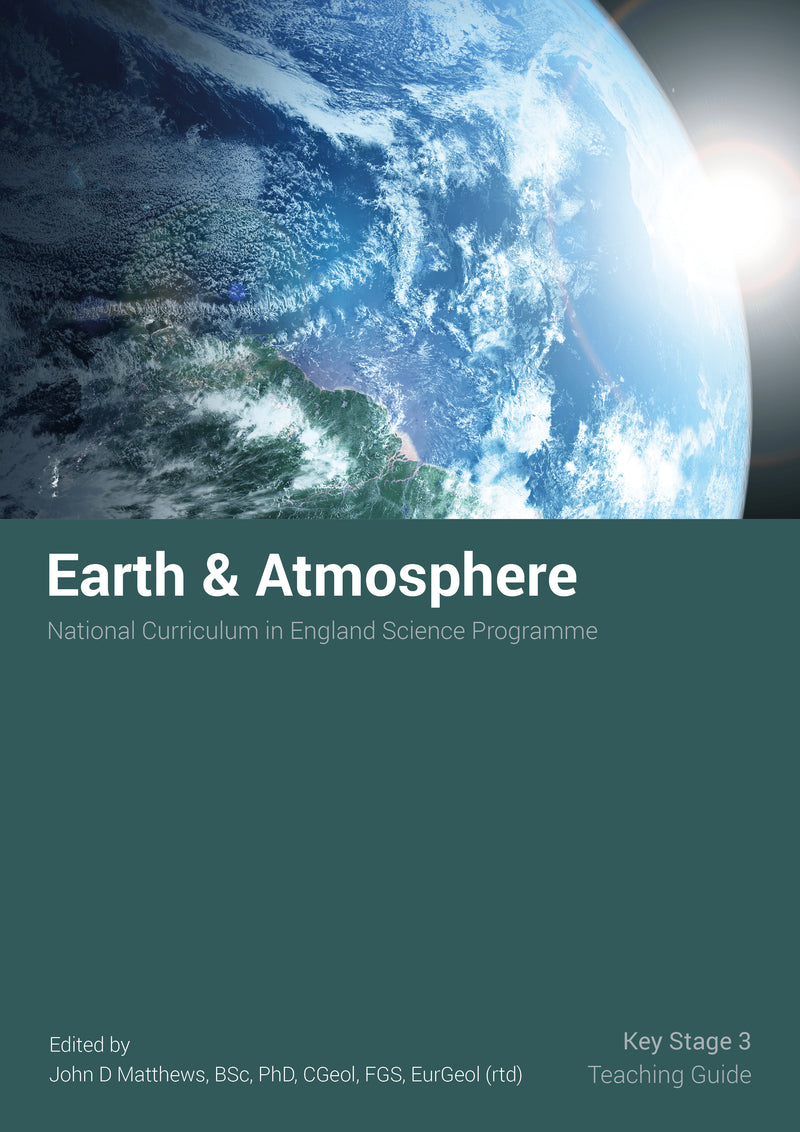 Cover Image for Earth and Atmosphere Teaching Guide