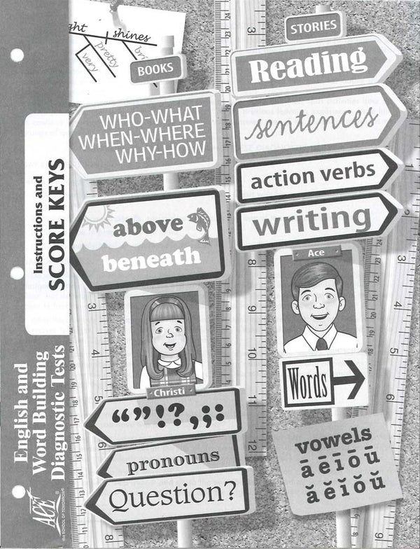 Cover Image for English Diagnostic Test Key 1 - 96