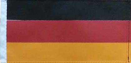 Cover Image for German Flag with Pole & Base