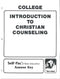Cover Image for Intro. to Christian Counselling Keys 6-10