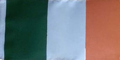 Cover Image for Irish Flag with Pole & Base