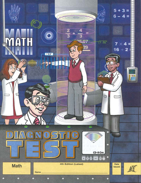 Cover Image for Maths Diagnostic Test 1 - 72