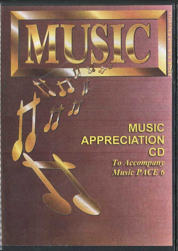Cover Image for Music Appreciation CD