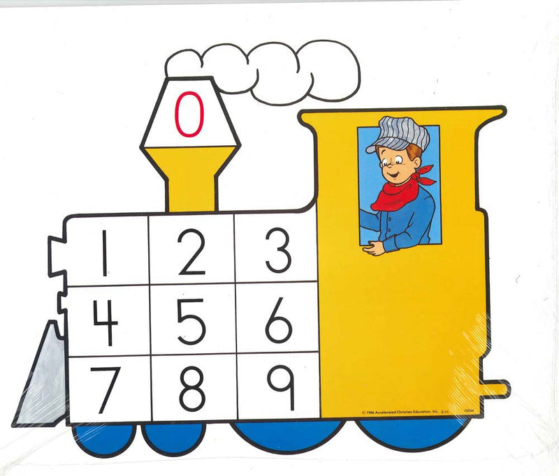 Cover Image for Preschool Number Training Cards