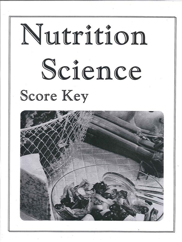 Cover Image for Nutrition Science Keys 1-6