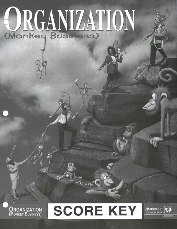 Cover Image for ORGANIZATION/Monkey Business KEY