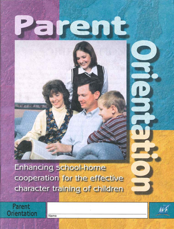 Cover Image for PARENT ORIENTATION PACE