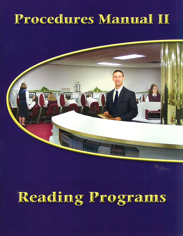 Cover Image for Procedures Manual 2 - Reading Programs on CD-ROM