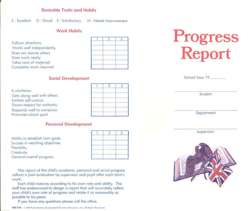 Cover Image for Progress Report (Ind)