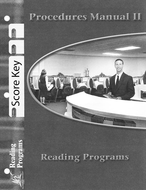 Cover Image for Reading Programs Score Key