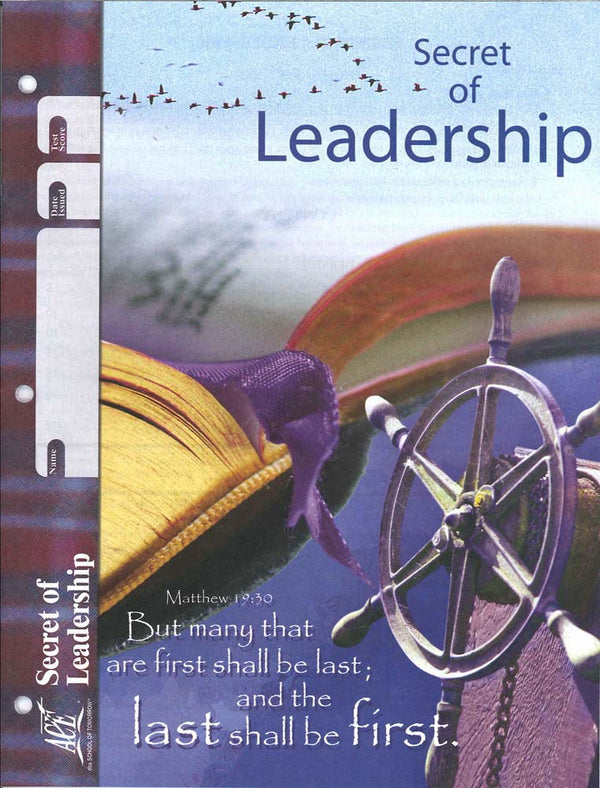 Cover Image for Secret of Leadership