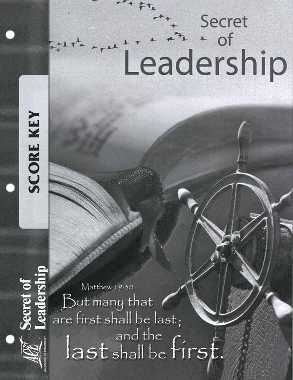 Cover Image for Secret of Leadership Key