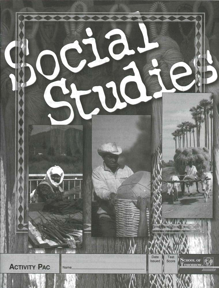 Cover Image for Social Studies Selfpac Keys 121-123
