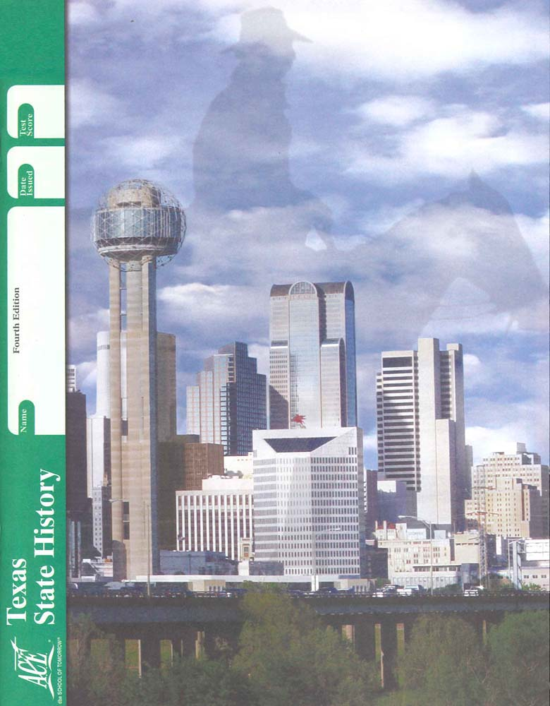 Cover Image for TEXAS STATE HISTORY 84 - 4TH ED