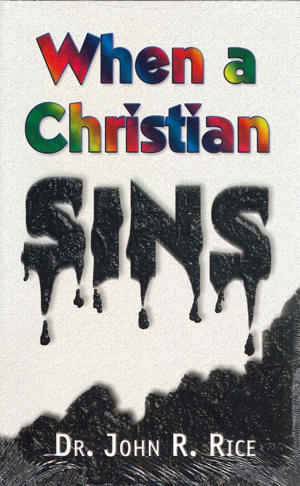 Cover Image for When a Christian Sins