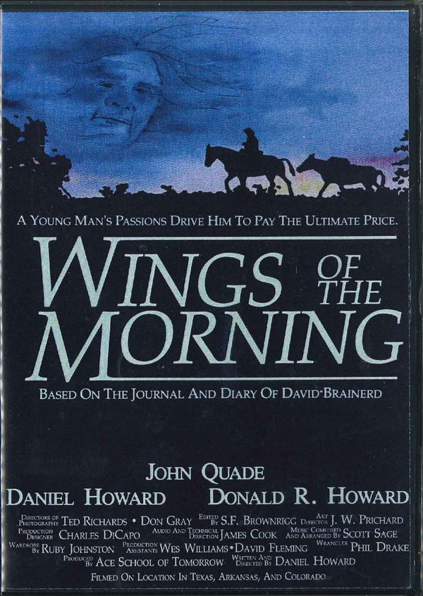 Cover Image for Wings of the Morning DVD