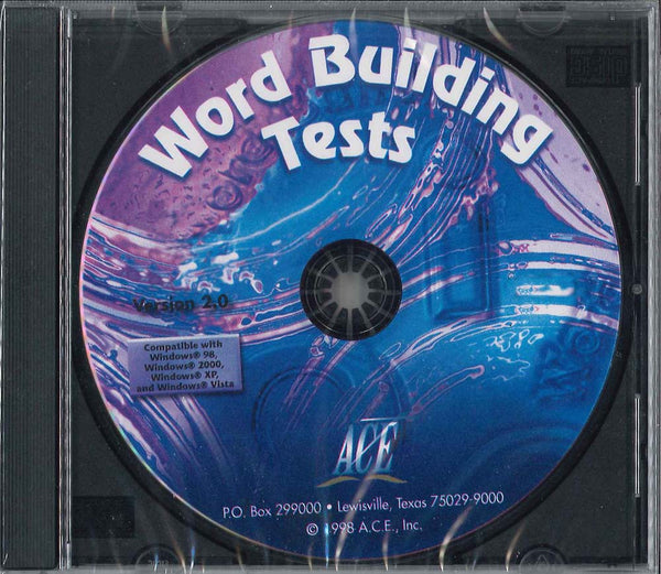 Cover Image for Word Building Tests on CD ROM for Level 7