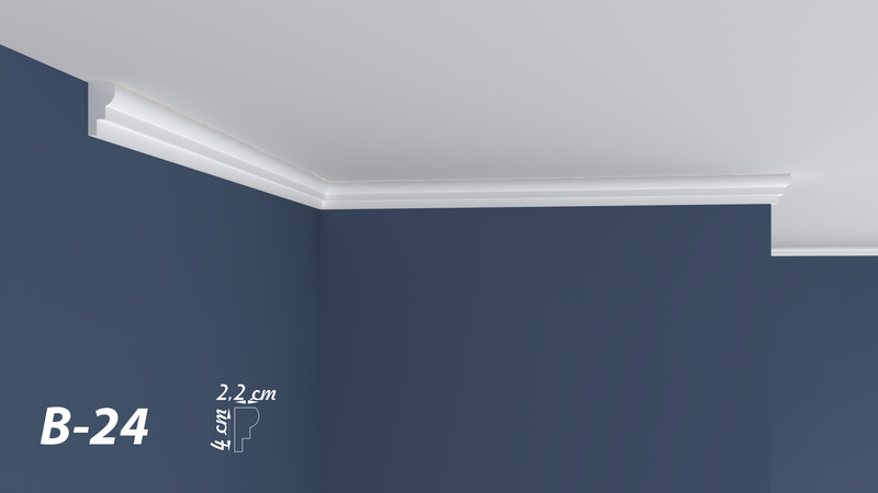 "XPS POLYSTYRENE WALL COVING CORNICE - LIGHTWEIGHT - ""BEST PRICE & QUALITY"" FINEST QUALITY NEXTDAY DELIVERY B-24"