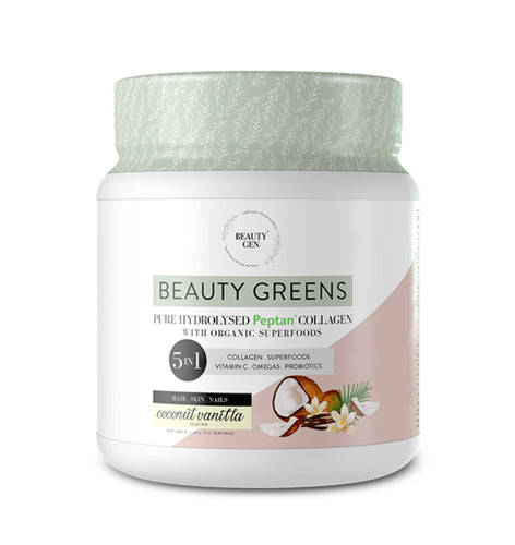 Beauty Greens Collagen (Coconut Vanilla)