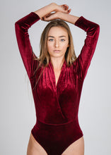 Load image into Gallery viewer, Velvet Bodysuit