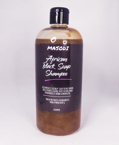 African Black Soap Shampoo 500ML
