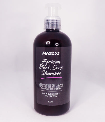 African Black Soap Shampoo 300ML