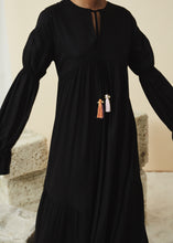 Load image into Gallery viewer, Raha Dress (Black)