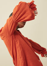 Load image into Gallery viewer, Outlander Blouse (Tangerine)