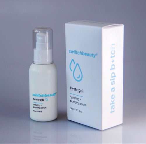 #WaterGel - plumping + hydrating serum