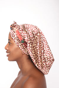 Full Satin Printed Bonnet