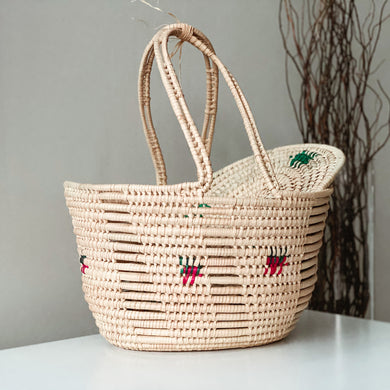 Picnic Basket With Patterns