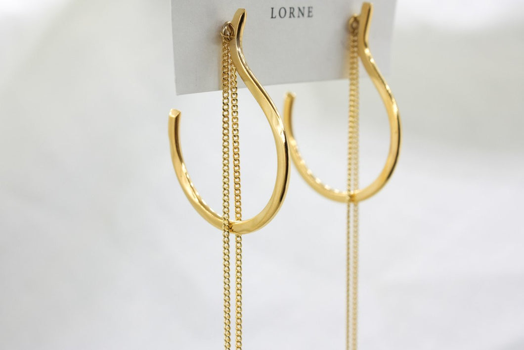 Hoop & Detachable Chain