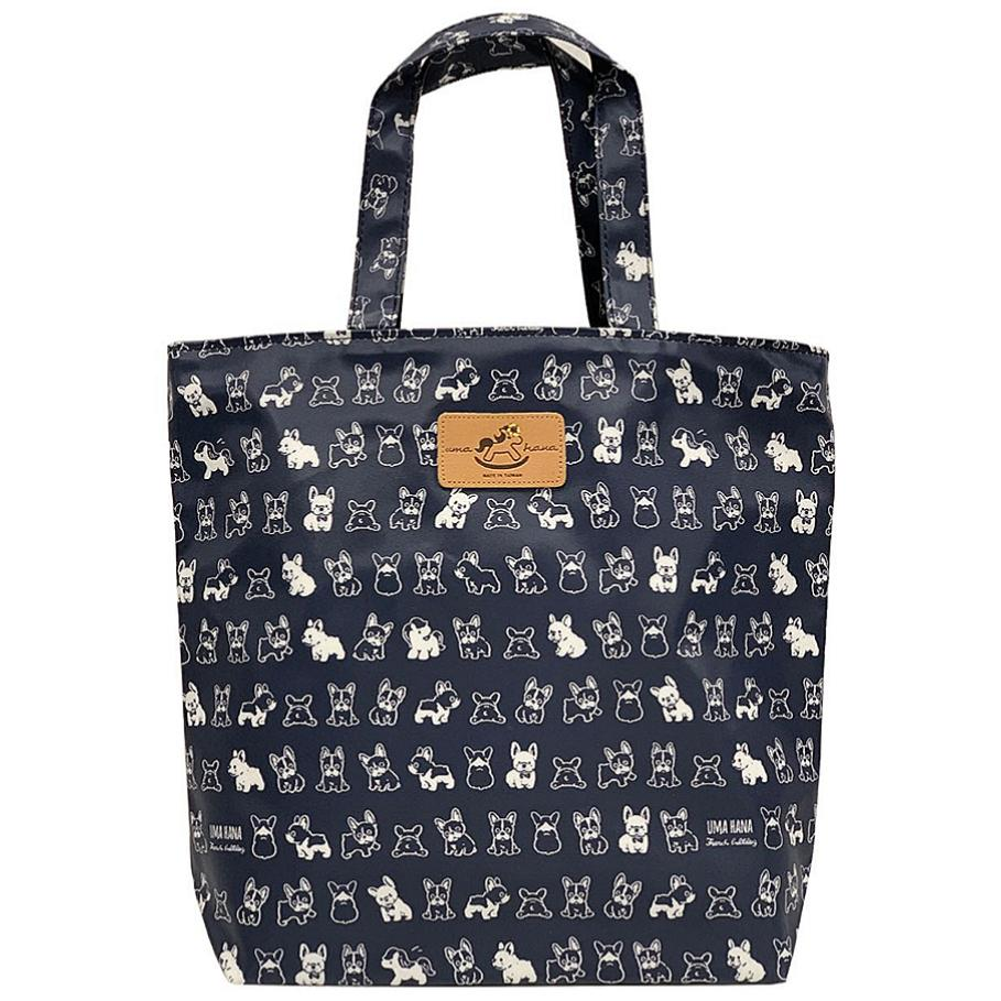 Blue French Bulldog Bucket Tote Tote Tworgis