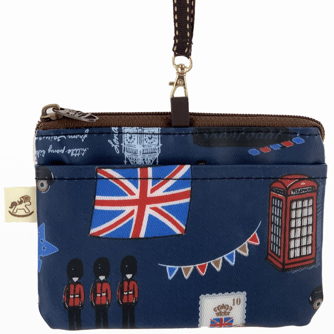 Blue London Card & Coin Purse Tworgis